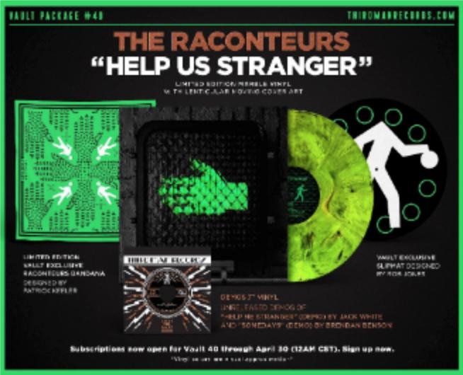 The Raconteurs Return With New Album Help Us Stranger