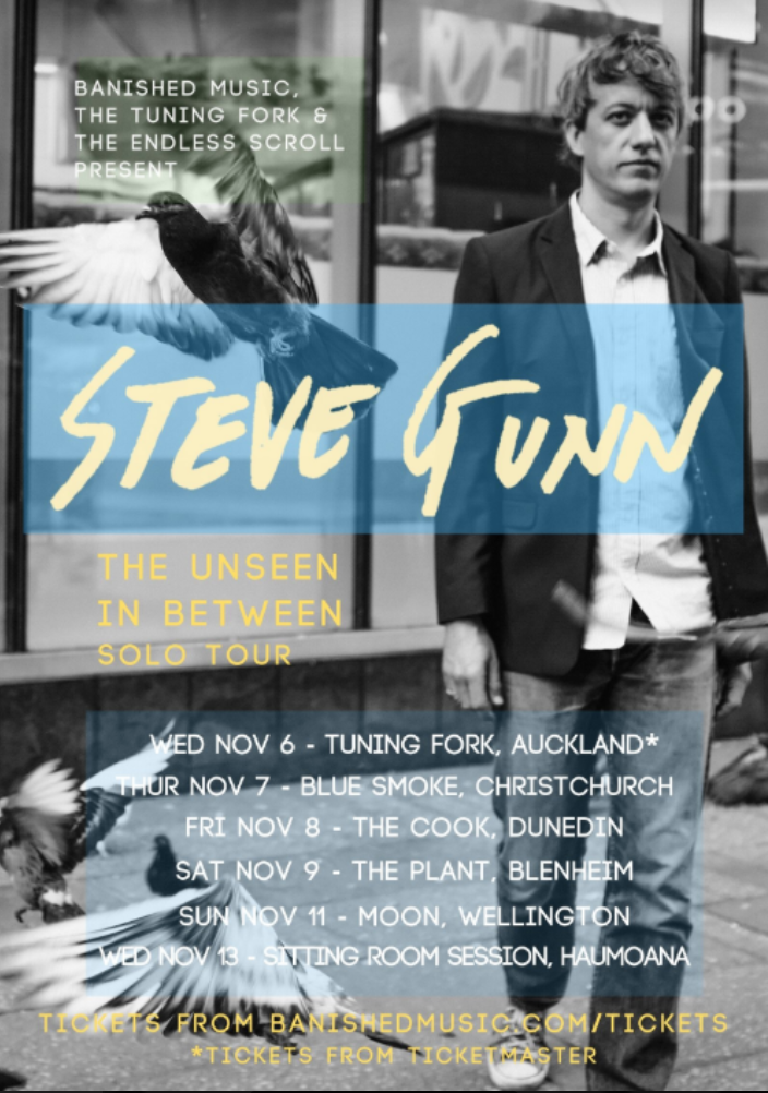 Steve Gunn The Unseen In Between solo tour – THE LABEL